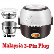 Periuk Nasi 1.5L Lunch Box Rice Cooker Steamer