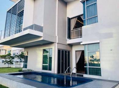 Double storey bungalow kota seriemas, nilai for sale