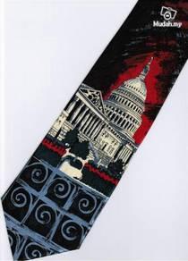 National Capitol Building Washington USA Neck Tie