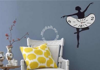Creative Ballet Dancer DIY Wall Clock