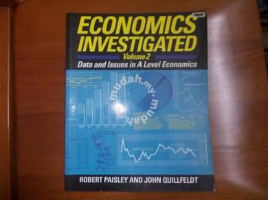Economics Investigated Volume 2