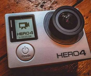 Go Pro Hero 4 Silver Edition