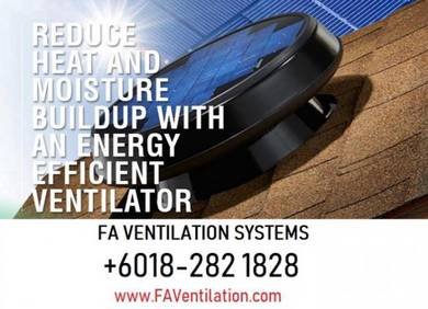 No.1 Solar Roof Ventilator KELANTAN / TERENGGANU