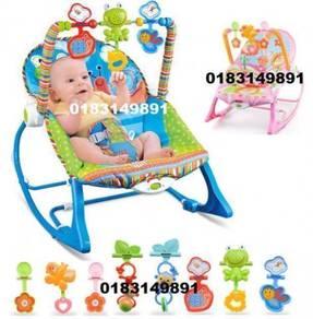 Buaian Bayi Baby Swing Rocker Chair Cradle (B)