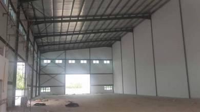 Superb Factory in Klang with big compound for Rent. Good Rate !!