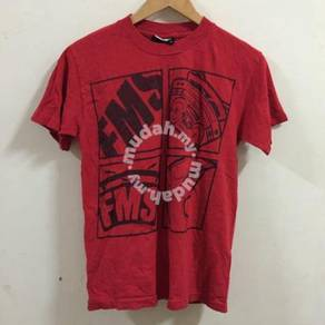 FMS Famous Shirt Size S Red radio