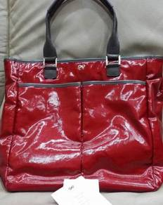 ANYA HINDMARCH Large Nevis Tote in RED