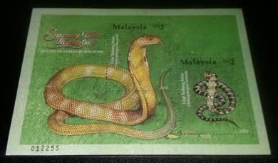 MS Spesies Ular Malaysia 2002