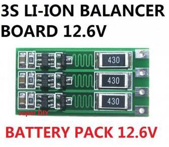 Li-ion Battery Balancer Board 12.6V for DIY projec
