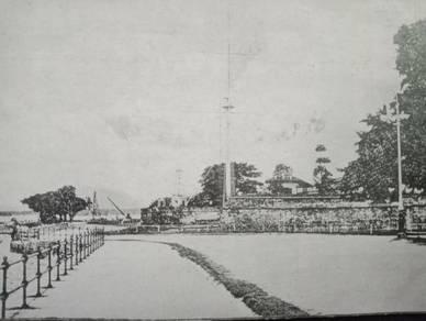 Postcard Kedah Pier Penang PC 2470