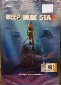 DVD English Movie Deep Blue Sea 2