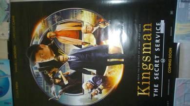 Original Kingsman movie poster