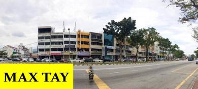 4 Storey Shop Lot 1st Floor MainRoad 1200 sqft at Jelutong WORTH RENT
