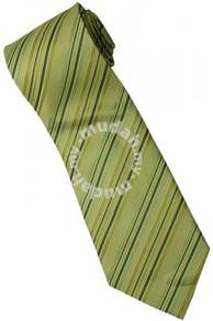 EG3 Apple Green Quality Striped Formal Neck Tie