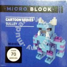 BOYU micro Block Toy Cartoon series - SULLEY