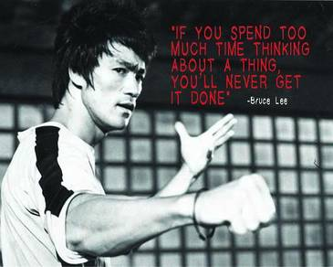 Poster BRUCE LEE QUOTE 9