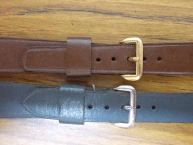 Vintage leather watch strap band