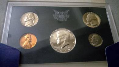 Vintage 1968 United states proof set coin