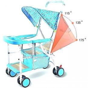 Kereta Dorong Foldable Baby Stroller (D)