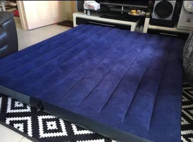 Air bed tilam angin intex travel queen