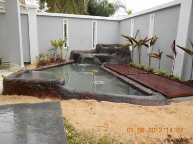 Customized Filtration system and fish pond