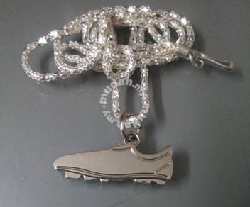 ABPSS-S009 Stainless Foot Ball Sport Shoe Necklace
