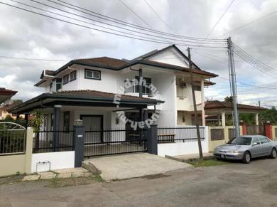Newly refurbished Double storey semi-D nearby SMK Jln Arang for sale