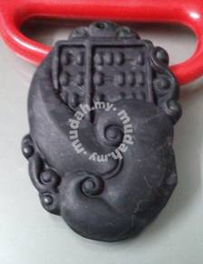 ABPJ-A005 Dark Jade Chinese Abacus Count Necklace