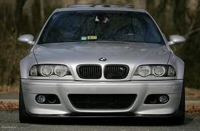 Bmw e46 m sport m3 style front bumper