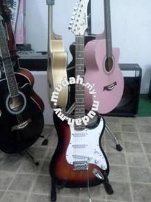 Techno~(ST-38R) Gitar Elektrik