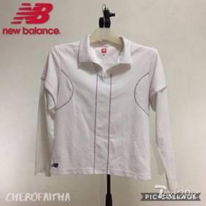 Baju NB New Balance long sleeve tennis lady shirt