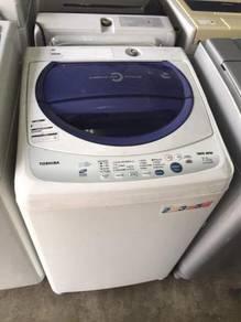 Toshiba 7.2kg washing machine automatic top load