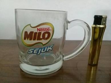 119 Cawan gelas milo sejuk glass cup