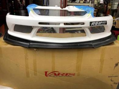 Varis Hurtling Lancer Evolution 9 Evo Front bumper
