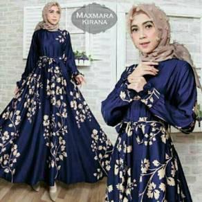 Muslimah long sleeve maxmara kirana maxi dress
