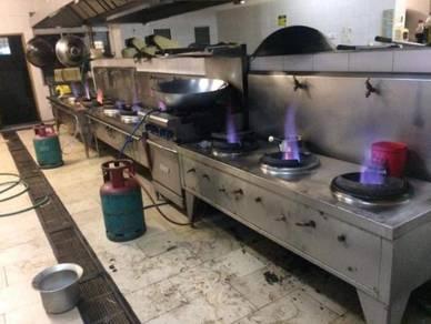 Baiki dan servise dapur rumah dan restoran