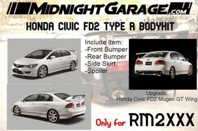 Honda Civic FD2 Type R Bodykit