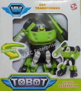 Tobot Transformation Transformer Robot Car Green