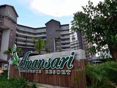 Amansari Residence Resort Bandar Seri Alam Studio Unit For Rent