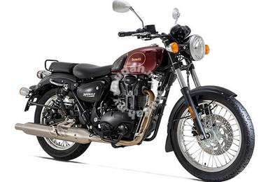 BENELLI IMPERIALE 400i (cafe racer)-classic BIKE