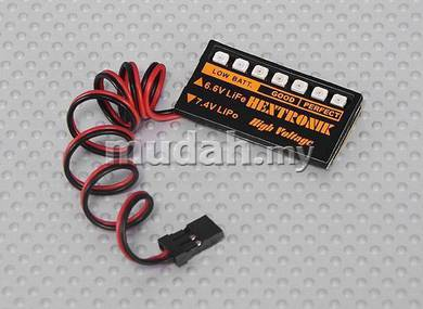 LED RX Voltage Indicator for Lipoly _ LiFe Battery
