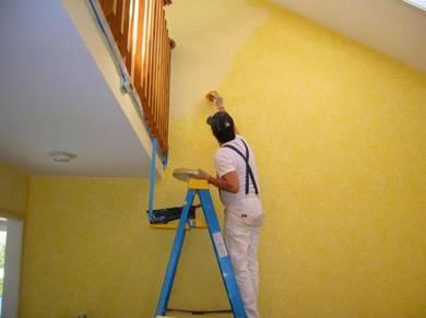 Perkhidmatan Cat Bangunan House Painting