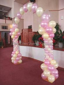 Single line arch pillar-simple & murah