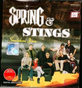 CD SPRING & STINGS Sentuhan Jiwa 2CD