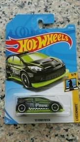 HotWheels '12 Ford Fiesta Black Pawn