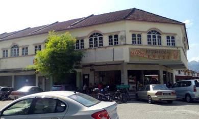 Shop lot for rent at taman kinta mas, bercham, ipoh, perak