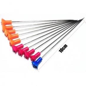 50pcs Blow Darts 10cm Steel Needls