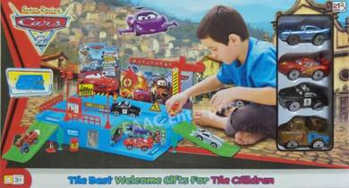 Kids Play & Learn CARS series Parking Garage Track