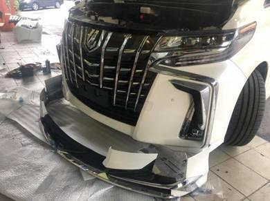 Toyota alphard 2019 modelista bodykit body kit