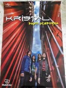Official KRISTAL - Pasti Sempurna Poster Malaysia